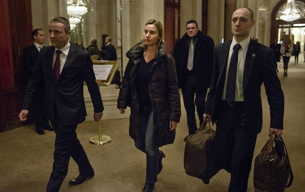 Могерини отложила свой визит в Киев