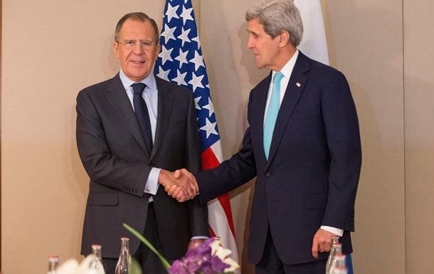 Керрі обговорив з Лавровим ситуацію в Україні