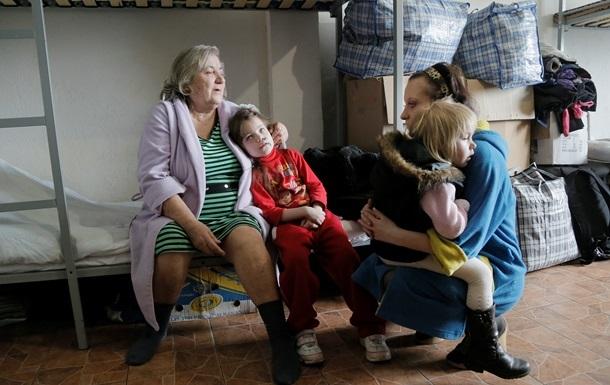 В ГосЧС сообщили о количестве переселенцев из зоны АТО и Крыма