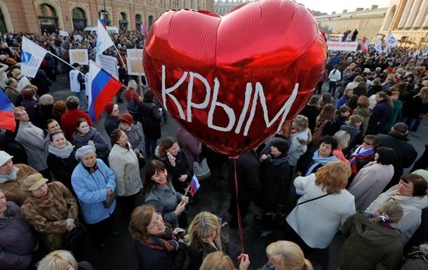 Собчак: На місці Путіна теж приєднала б Крим