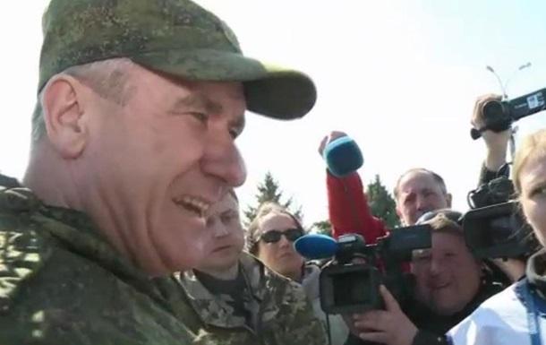 Российский генерал поспорил с ОБСЕ о доступе к границе - BBC