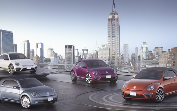 Volkswagen создал четыре новых прототипа на базе Beetle Dune