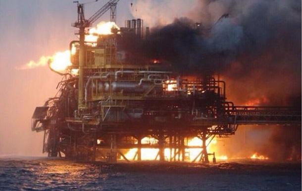 На нафтовій платформі в Мексиканській затоці зникли кілька людей