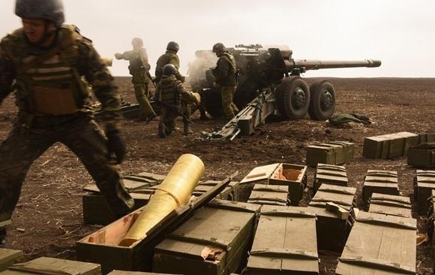 Военных обстреливают из артиллерии и минометов - штаб АТО