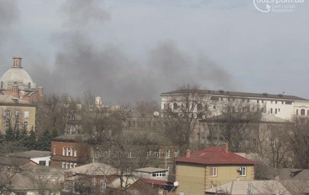 МВД: Ночью в Мариуполе ничего не взрывалось