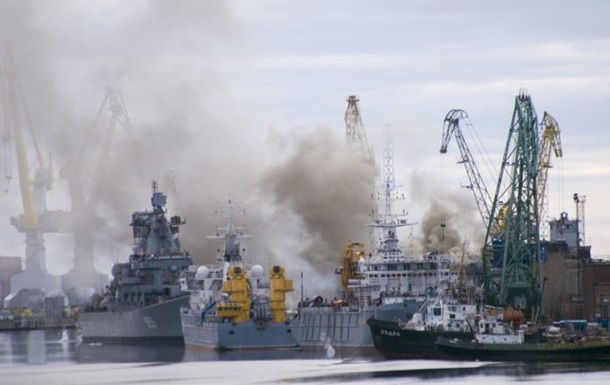 Пожежа на атомному підводному човні в Росії не привела до серйозних пошкодж