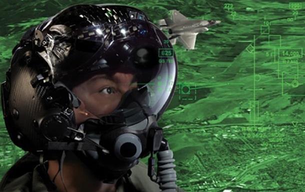 В США разработан шлем, позволяющий пилоту видеть сквозь самолет