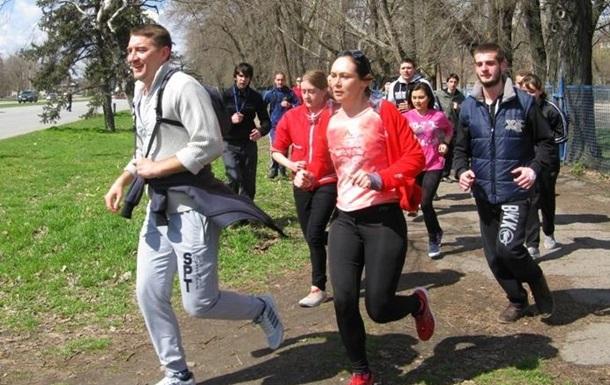 Запорожская молодежь выбирает здоровый образ жизни!