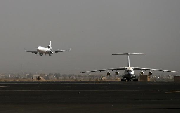 Російські літаки не пустили в Ємен
