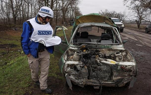 ОБСЄ: Відведення важкого озброєння на Донбасі ще не закінчене