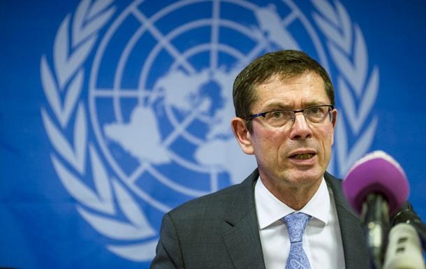 Помічник голови ООН відвідає Донбас в травні