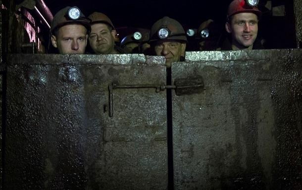 Порошенко схвалив 400 млн гривень на зарплати гірникам
