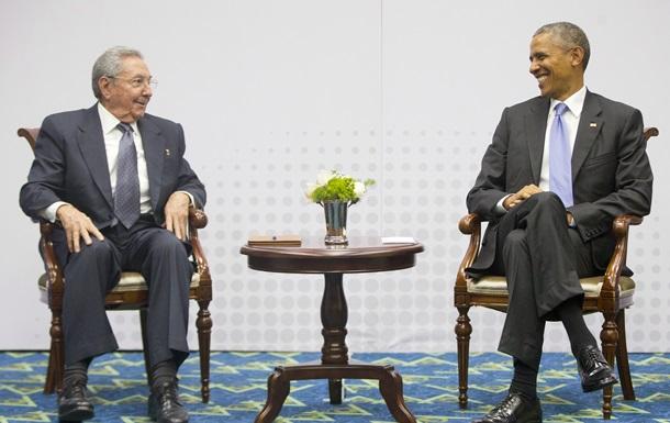 На Кубе довольны, что Обама исключил страну из списка спонсоров терроризма