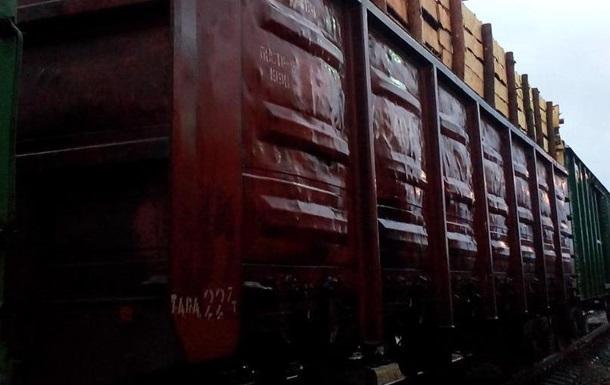 В Донецкой области задержан поезд, незаконно перевозивший металлолом