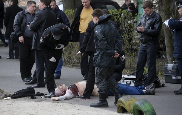 У Києві застрелили журналіста й письменника Олеся Бузину