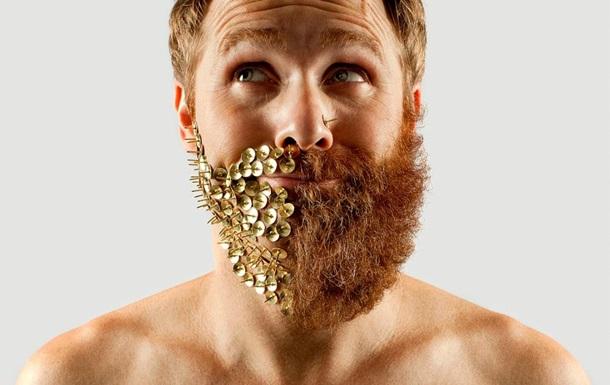 Ламберсексуал наполовину: бразилец пожертвовал бородой ради фотопроекта