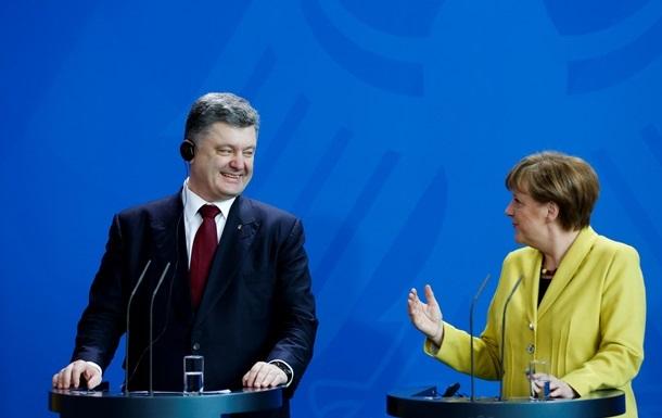 Порошенко написав статтю про Меркель для американського Time
