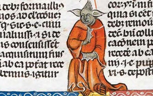 Магістра Йоду із Зоряних воєн знайшли у середньовічному манускрипті