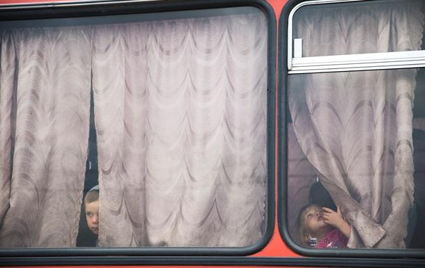 ООН: В Украине более 1,2 млн вынужденных переселенцев
