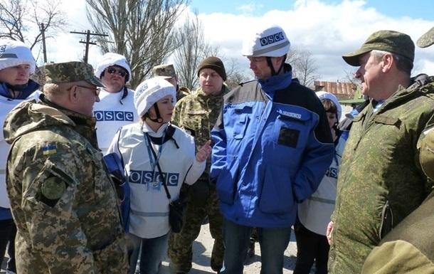 ОБСЕ будет непрерывно находиться в  горячих точках  на Донбассе