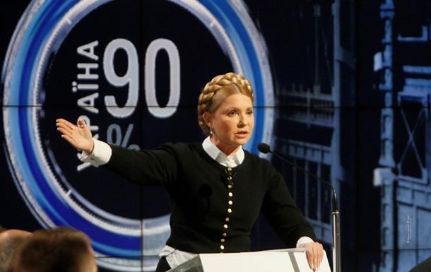 Тимошенко заявила про готовність на два тижні стати главою НКРЕКУ