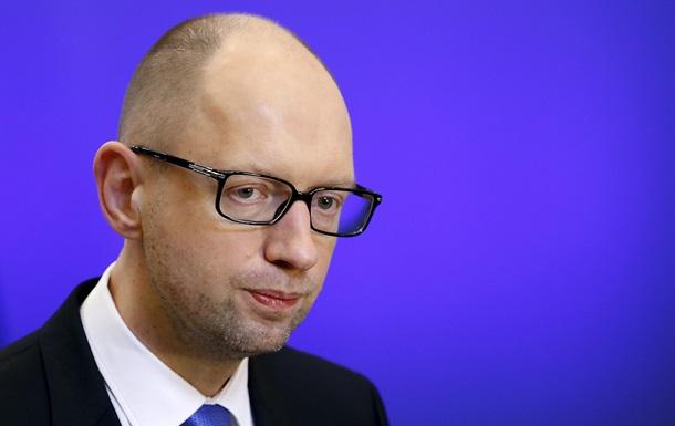 Яценюк рассказал, сколько шахт осталось под контролем Киева