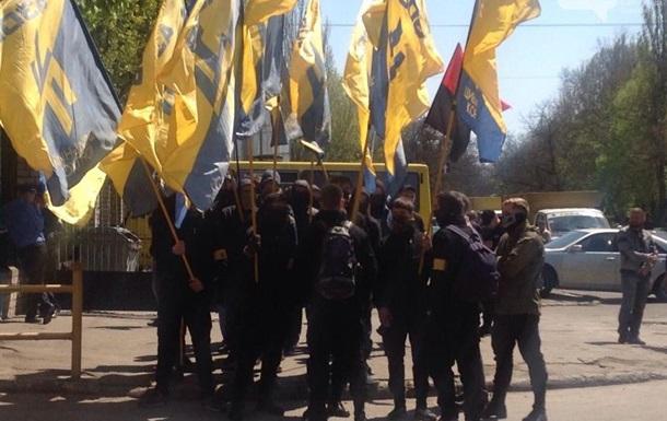 В Одессе задержали два десятка митингующих у хлебозавода - СМИ