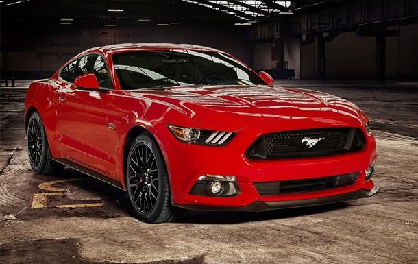 Ford розсекретив європейську версію спорткара Mustang