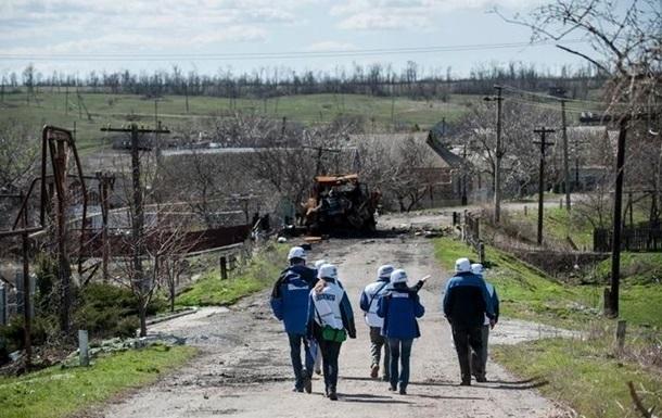 В результате обстрела Дзержинского погиб мирный житель – ОБСЕ