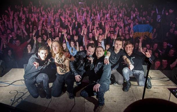 Зигующие радикалы  потолкались  на концерте в Чигирине