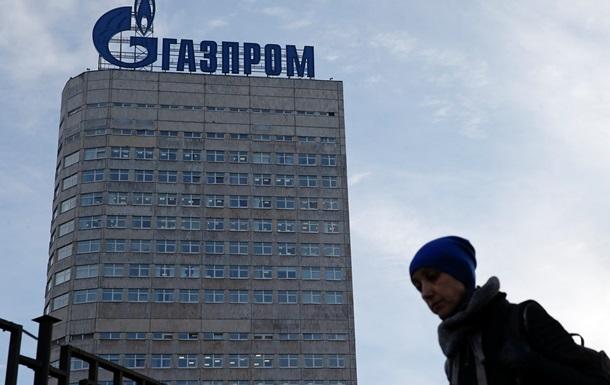Прибуток Газпрому впав більш ніж у сім разів