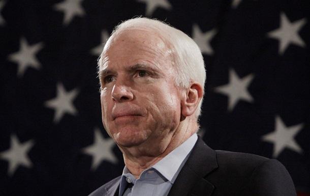 Маккейн: Следующий в списке - Мариуполь