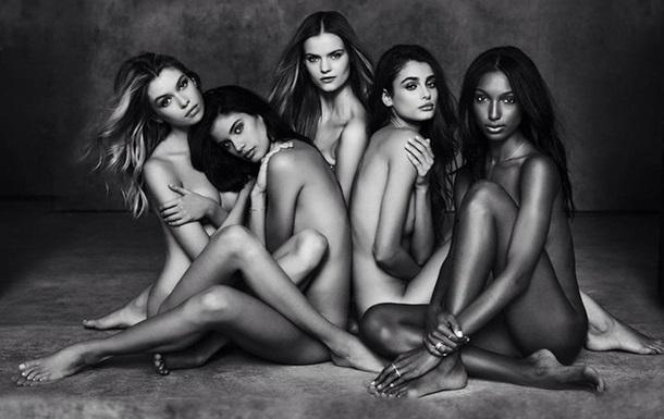 Victoria s Secret представила первое фото обнаженных  ангелов-новичков