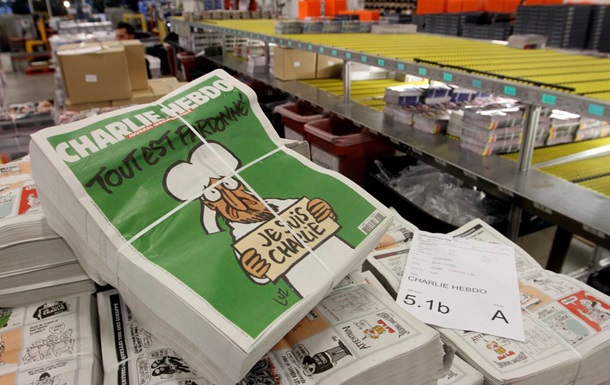 Журнал Charlie Hebdo будуть випускати в Україні
