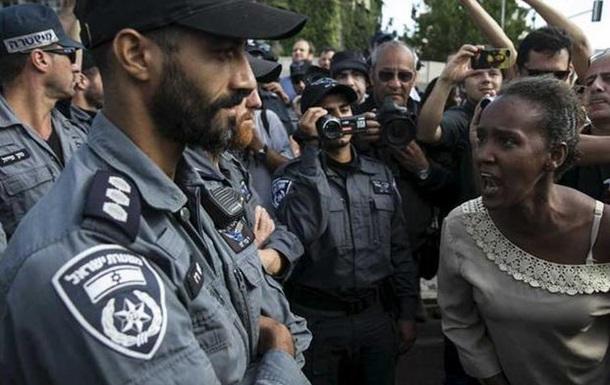 В Тель-Авиве евреи из Эфиопии протестуют против насилия полиции