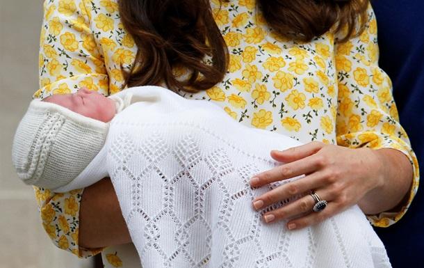 Британську принцесу назвали Шарлотта Елізабет Діана