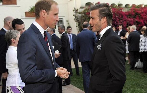 Дэвид Бекхэм станет крестным отцом британской принцессы Шарлотты