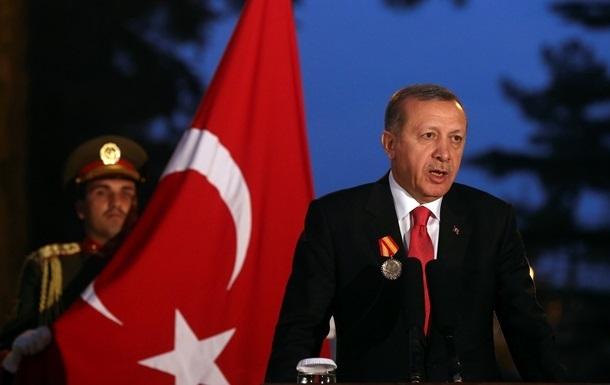 Президент Туреччини не поїде в Москву на парад