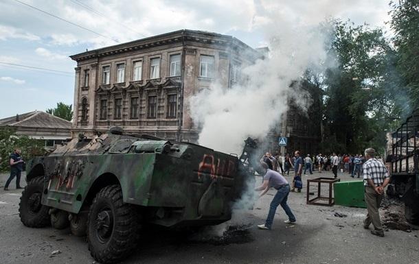 Милиция установила причастных к захвату Мариуполя год назад