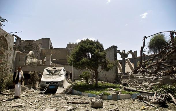 У Ємені з повітря бомбили резиденцію екс-президента