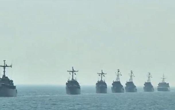 Два десятка военных судов участвуют в учениях у берегов Литвы
