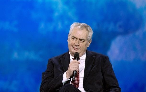 Земан не исключил, что в будущем Россия может стать членом ЕС