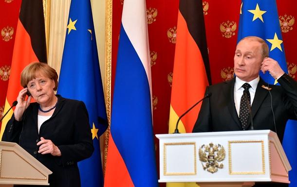 Кремль отредактировал слова Меркель об аннексии Крыма