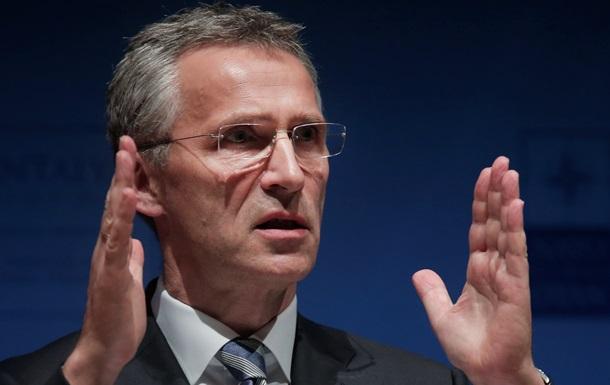 Столтенберг назвал заседание комиссии Украина-НАТО очень успешным