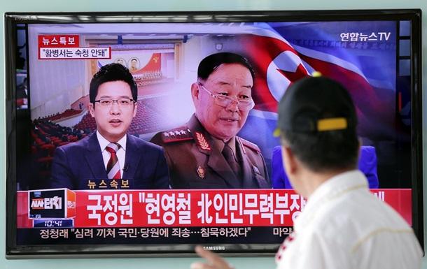 Расстрелянного из зенитки северокорейского министра показали по телевидению