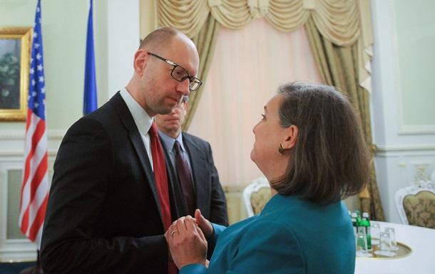 Нуланд и Яценюк проводят встречу в Киеве – СМИ