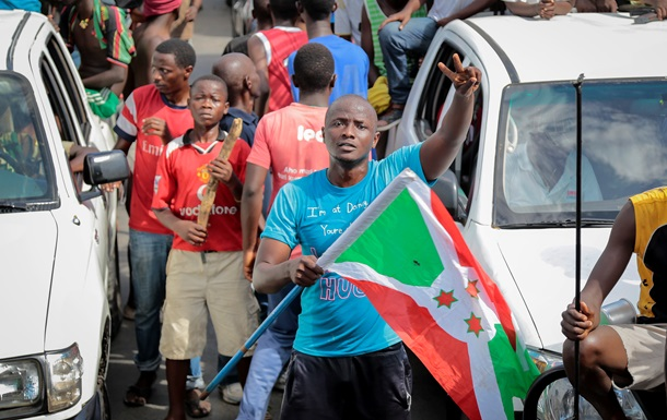 В ООН нарахували 105 тис. біженців з Бурунді після спроби держперевороту