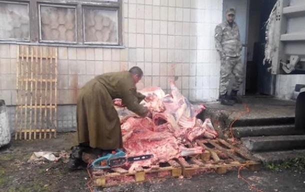 Мобілізований блогер показав, чим годують військовослужбовців