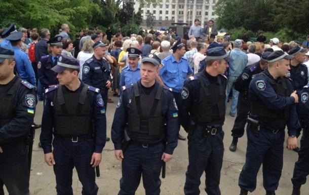 В Одессе милиция предотвратила столкновения возле Куликова поля