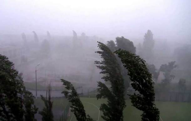 В Киеве сегодня ожидается шквальный ветер